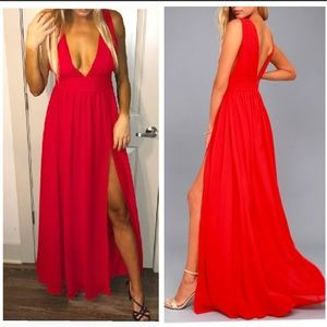 Lulus size M heavenly hues dress